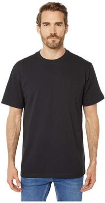 Filson Short Sleeve Outfitter Solid One-Pocket T-Shirt (Faded Black) Men's T Shirt
