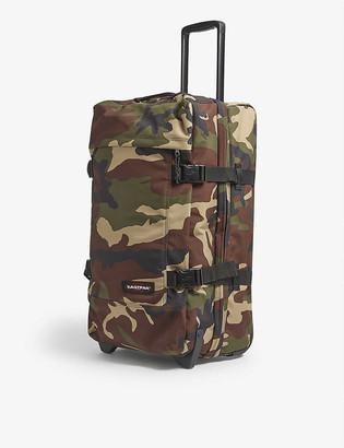Eastpak Tranverz M camouflage-print nylon suitcase 67cm