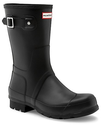 Hunter Men's Original Short Waterproof Rain Boots