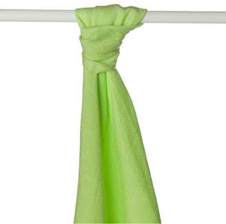 Camilla And Marc XKKO BMB09 0001 A Bamboo Swaddles for use or Light Blanket, Swaddling, Breastfeeding Nappies Green 90 cm x 1 m (Order Per Metre)