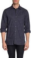 Hickey Freeman Bleeker Check Long Sleeve Regular Fit Shirt