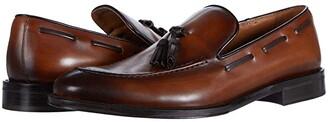 Bruno Magli Alfio (Cognac Algar Calf) Men's Shoes