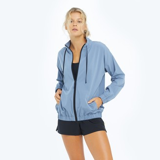 Summersalt The On-The-Go Zip-Up Jacket - Slate