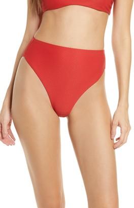 Chelsea28 Easy Retro High Waist Bikini Bottoms