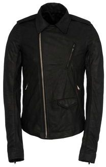Rick Owens Leather outerwear