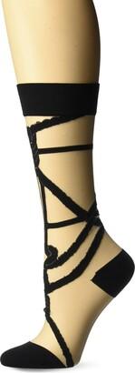 Ozone Women's Shibari Knot Sock