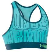 Under Armour Girl's HeatGear Armour Graphic Sports Bra