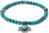 Peyote Bird Lapis, Turquoise and Sterling Silver Bracelet