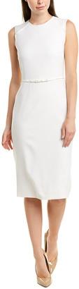 Max Mara 'S Wool-Blend Sheath Dress