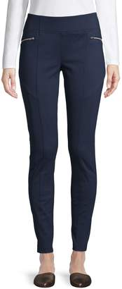 INC International Concepts Classic Wide-Waistband Pants