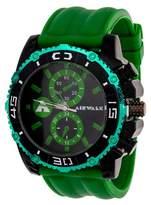 Airwalk Rubber Strap Analog Watch - Green