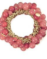 Robert Rose beaded cluster stretch bracelet