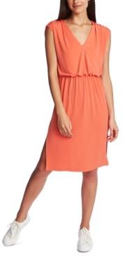 1 STATE 1.state Cinched V-Neck Dress