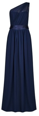 Dorothy Perkins Womens Showcase Tall Navy Sadie Maxi Dress