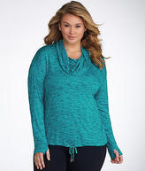 Calvin Klein Space Dye T-Shirt Plus Size,, Activewear - Women's