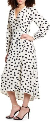 Vero Moda Kayla Long Sleeve Wrap Dress