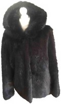 Oakwood Black Faux fur Jacket for Women