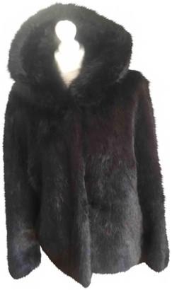 Oakwood Black Faux fur Jacket for Women