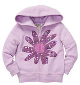 Osh Kosh OshKosh BGosh Girls' 12M-4T Lavender Hooded Flower Jacket