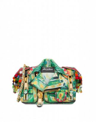 Moschino Matador Biker Bag Woman Green Size U It - (one Size Us)
