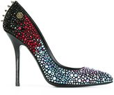 Philipp Plein 'Sharky' pumps - women - Leather - 38