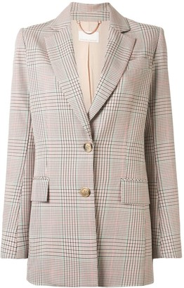Ginger & Smart Imperial check blazer
