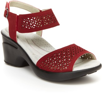 Jambu JBU by Dress Comfort Wedge Sandals - Toledo