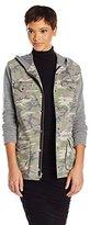 JET John Eshaya Women's Hooded Army Jacket