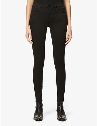 J Brand Sophia skinny mid-rise jeans