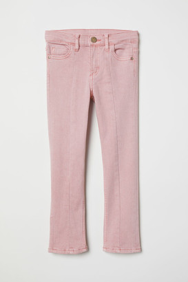 H&M Flared twill trousers