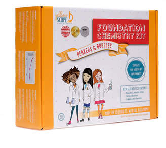 Yellow Scope Foundation Chemistry Set: Beakers and Bubbles