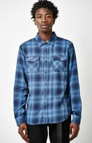 Vans Monterey II Plaid Flannel Long Sleeve Button Up Shirt