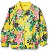 Gap Tropic floral jersey-lined windbuster