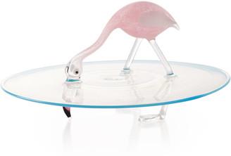 Massimo Lunardon Flamingo Cake Plate