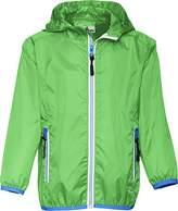 Playshoes Girl's Waterproof Rain Jacket Packable Hoodie Raincoat,9- (Manufacturer Size:140)