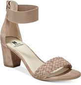 White Mountain Eryn Block-Heel Dress Sandals
