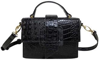 Croco TMRW Studio Leather Box Bag - Mitch