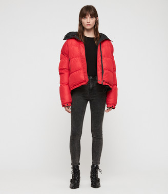 AllSaints Nala Reversible Puffer Coat