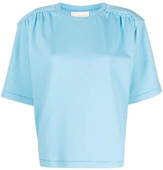 REMAIN padded short-sleeved T-shirt