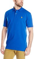 U.S. Polo Assn. Men's Solid Interlock Polo Shirt