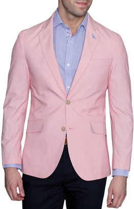 Tailorbyrd Pincord Woven Two Button Notch Lapel Modern Fit Sport Coat