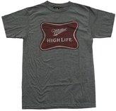 Trau & Loevner Miller High Life Logo Beer Gray Heather Men's T-Shirt-xl