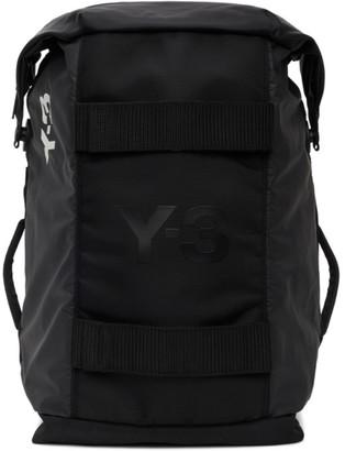 Y-3 Black Hybrid Duffle Bag