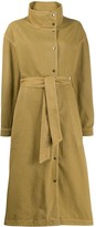 Closed trench coat dress