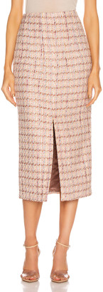 Brock Collection Pectolite Skirt in Medium Pink | FWRD