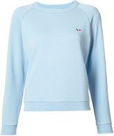 MAISON KITSUNÉ logo sweatshirt - women - Cotton - S