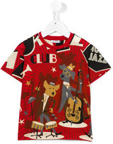 Dolce & Gabbana printed T-shirt - kids - Cotton - 2 yrs