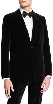 The Row Men's Alec Two-Piece Velvet Tuxedo