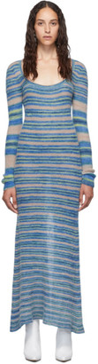 Jacquemus Blue La Robe Perou Dress