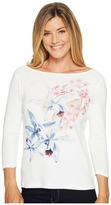 Tommy Bahama Orchid You Not 3/4 Sleeve Tee Women's T Shirt
